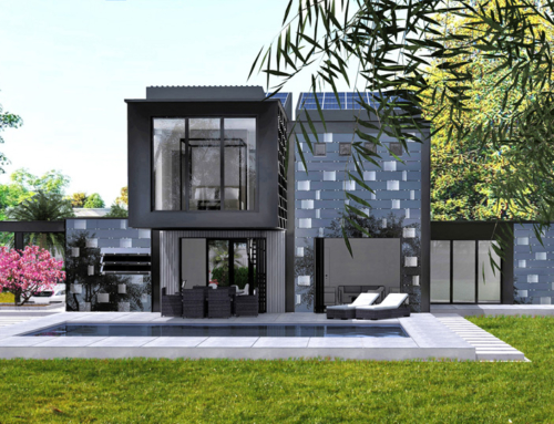Progetto di una villa a Sentosa Island – Singapore
