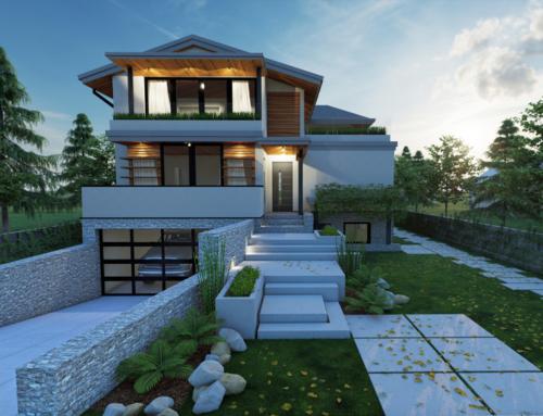 Progetto di villa unifamiliare – Vancouver, British Columbia (CA)