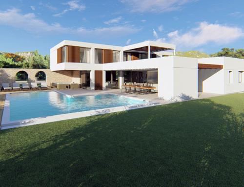 Progetto di villa unifamiliare – Arzachena, Sardegna (IT)